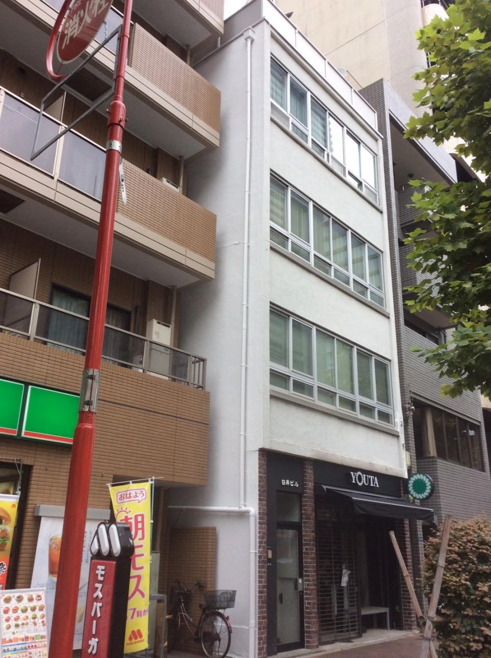 中央区 Uビル 塗装工事