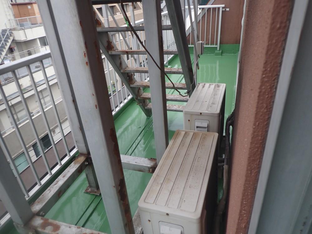 湯島Yビル・マンション バルコニー防水工事