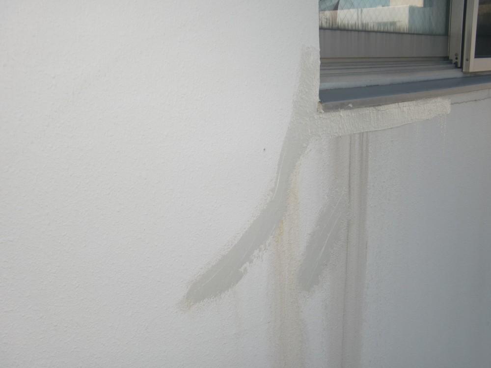 壁面 亀裂 補修後